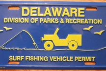 Delaware Surf Fishing & Metal Detecting / Surf Fishing and Beach Access  Metal Detecting on