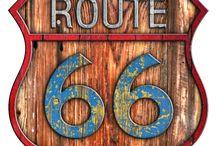 route 66 logos