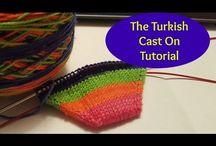 cast-on knitting