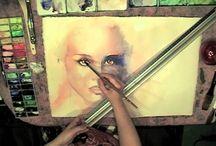 WATERCOLOR videos ACUARELA /  Art, watercolor videos.