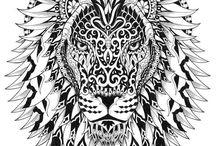Desenhos Zentangle