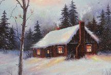 Kar yağli boya