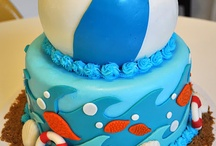 Pool party cakes / by Kristi Schultz