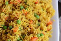 Reis | Rice | Risotto / Rezepte für Reisgerichte wie gebratener Reis mit Ei, asiatischer Reis von indisch bis chinesisch, cremiges Risotto oder auch Ofenrisotto. Hier spielt der Reis die Hauptrolle in den Rezepten!