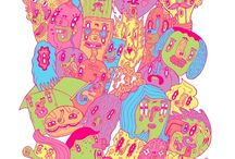 Illustration Inspiration / All kinds of illustration examples and inspiration