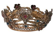 History - Crowns and Tiaras / Royal headgear.