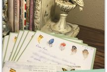 Letter Writing Eye Candy