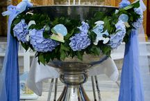 Christening decoration ideas / Pagonis floral fantasies and more pins.....