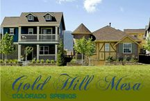 Gold Hill Mesa, Colorado Springs, West-Side Living / Gold Hill Mesa, Colorado Springs, West-Side Living, low maintenance living - a community that cares / by Susanna Haynie, Realtor in COS