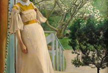 Art:Laurits Andersen Ring / Danish painter 1854-1933