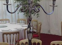 Candelabra Hire / Our 95cm tall candelabras create a wonderful effect at wedding receptions and corporate functions.