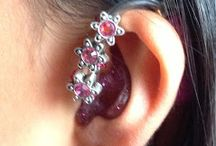 Jewelry for hearing aids