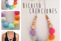 COLLARES DE LACTANCIA by MissBichito / Collares de lactancia hechos a mano