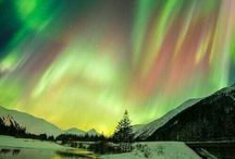 Northern Lights&Southern Lights&Auroras