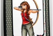 Cards - Archery, On Target, Sugar Pea Designs