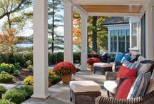 Porches / Front porch ideas / by Jess I.