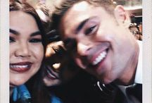 Zac Efron and fans