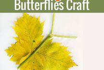 Kids Themes : Butterflies and Caterpillars