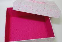 Caixas diversas / Embalagens artesanais confeccionadas com muito capricho e carinho