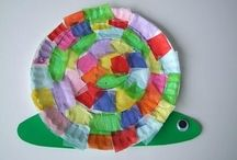 Snails / Fun art, craft, maths, writing, and science learning ideas about snails