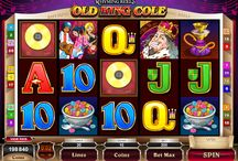 Rhyming Reels Old King Cole / Slot Machine