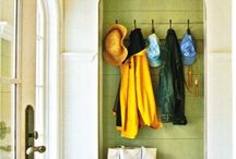 Entry/mudroom/laundry / by Janice Rivera-Klein
