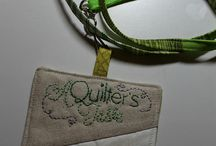 quilter name tags