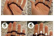 fingerknitting