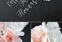 Crafts coffee filter flowers paper flowers