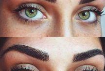 eyes, lashes and brow naturaal