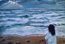 En Venta / Si te gusta unos de mis cuadros estan en venta  en el enlace y en este correo  caminanta1@hotmail.com