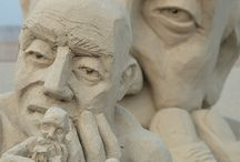 Rock and sand art / Amazing rock and sand sculptures