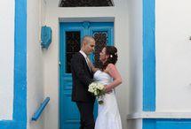 Love Story in Santorini