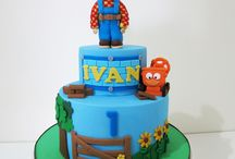 Cakes - Bob the builder theme