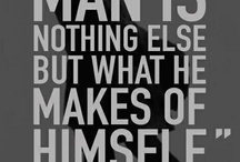 Quotes on Manhood / Fuel for the fire