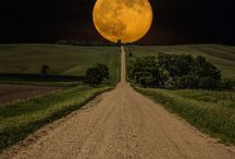 moon & landscapes & travelling