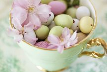 Spring Home Decor - Easter Home Accessories / Evoke the romance of an English country garden on a crisp, dewy morning with these carefully selected spring home decor ideas and easter decorations.
