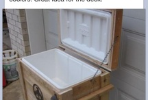 Recycle old coolerbox