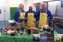 Tesco Eat Happy Project / We are proud to help educate students in the United Kingdom with Tesco's Eat Happy Project. This online field trip was broadcasted live to 150 school in the UK! Check it out!   http://www.eathappyproject.com/