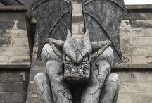 Gargoyles - all types / by Benjamin Hohman