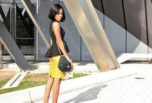 Skirt: Mustard/Yellow