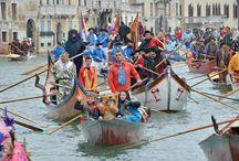 """Comienzan los famosos Carnavales de Venecia 2014 / Con la """"Festa Venezia"""" arrancó el Carnaval de Venecia, que bajo el lema """"La Naturaleza Fantástica"""" y durante algo más de dos semanas llenará de música y color las calles de la ciudad italiana. (Fotos: EFE y Reuters)"""