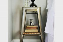 • Rustic Metal Chairs • / I am in love with metal chairs! Here is how you can use them in your home!