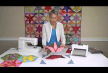 Patchwork quilt video