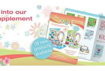 Brochure Images & Covers / Ask me for a free brochure! (UK only, sorry). Contact details on my Phoenix Blog www.suzannahscards.co.uk