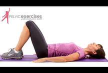 Pelvic floor workout