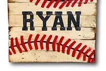 Brayden's Sports Room / by Megan Batte