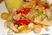 recepty z woku