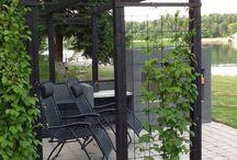Trädgård/fasad