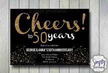 Anniversary Invites